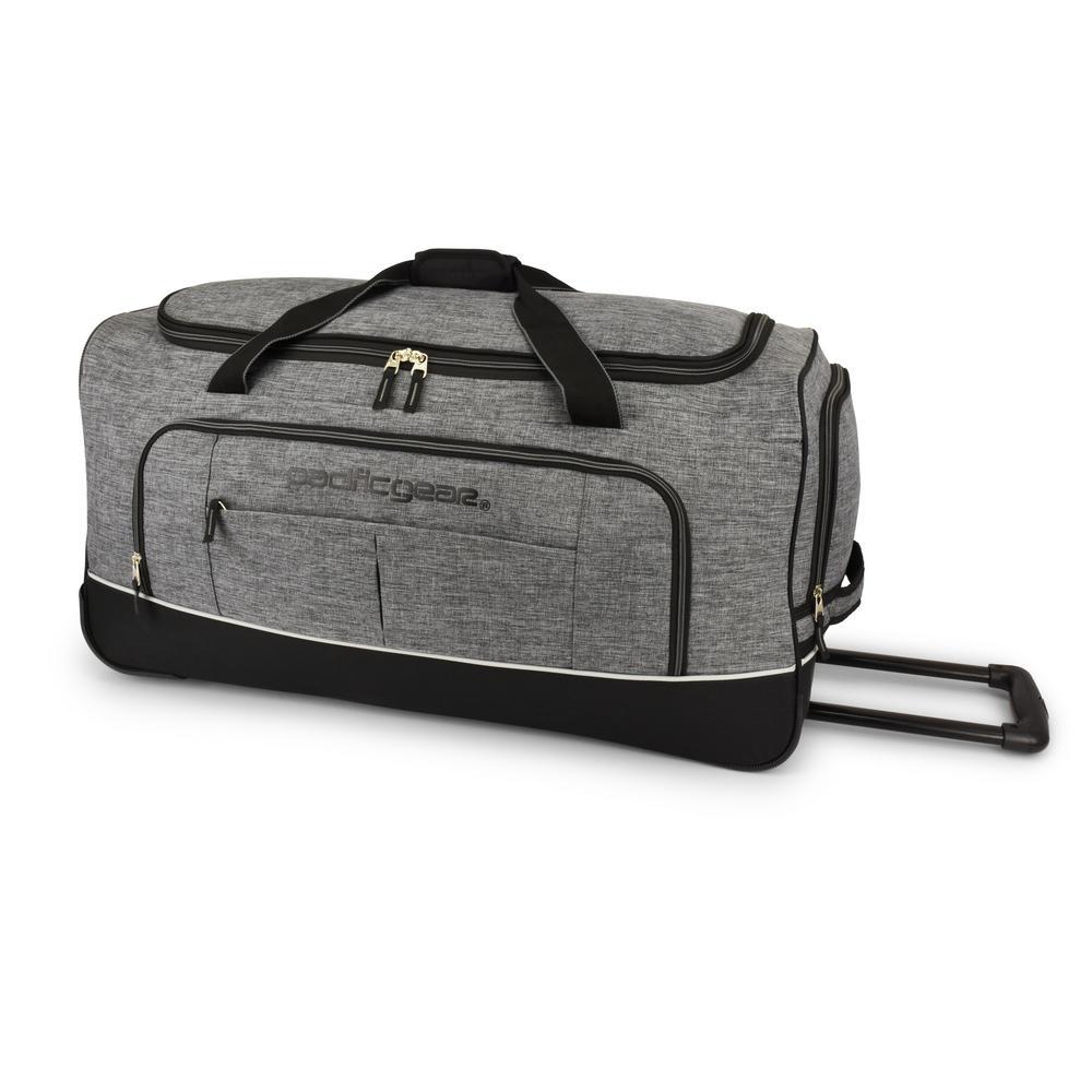 Keystone 30 in. Rolling Grey Duffel Bag