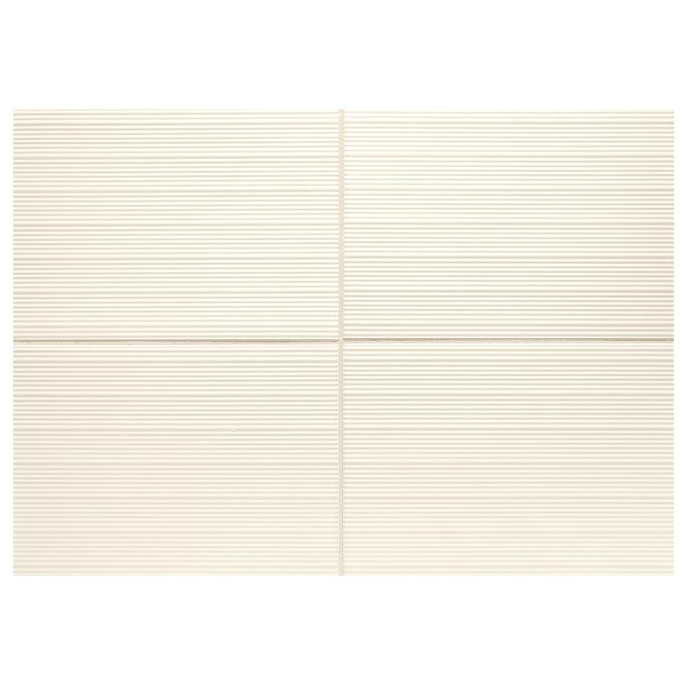 Aviano Verona White 10 in. x 14 in. Glazed Ceramic Wall Tile (14.25 sq. ft./Case)