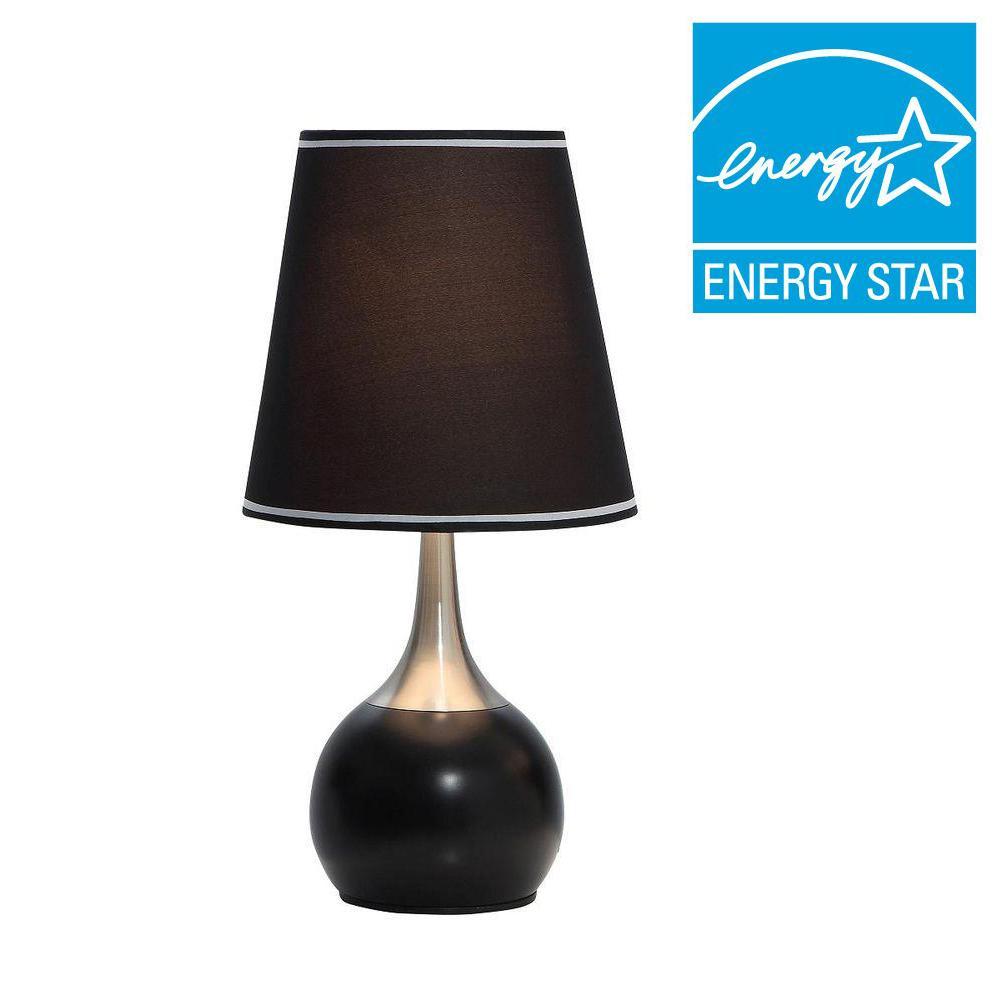 ORE International 23 inch Black High Modern Touch Lamp by ORE International