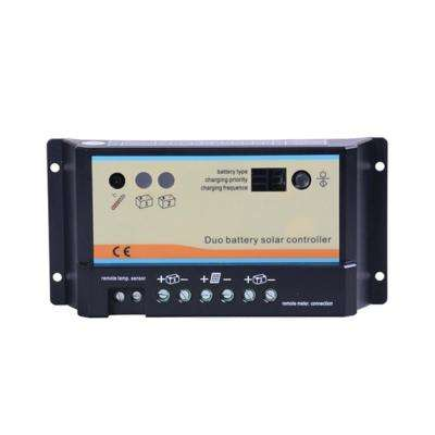 10 Amp PWM Duo Battery Solar Charge Controller