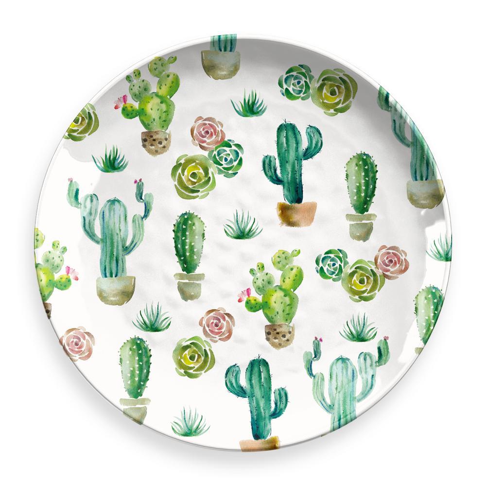 Desert Garden Round Platter