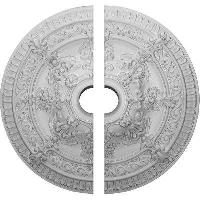 26 in. O.D. x 4 in. I.D. x 3 in. P Vincent Ceiling Medallion (2-Piece)