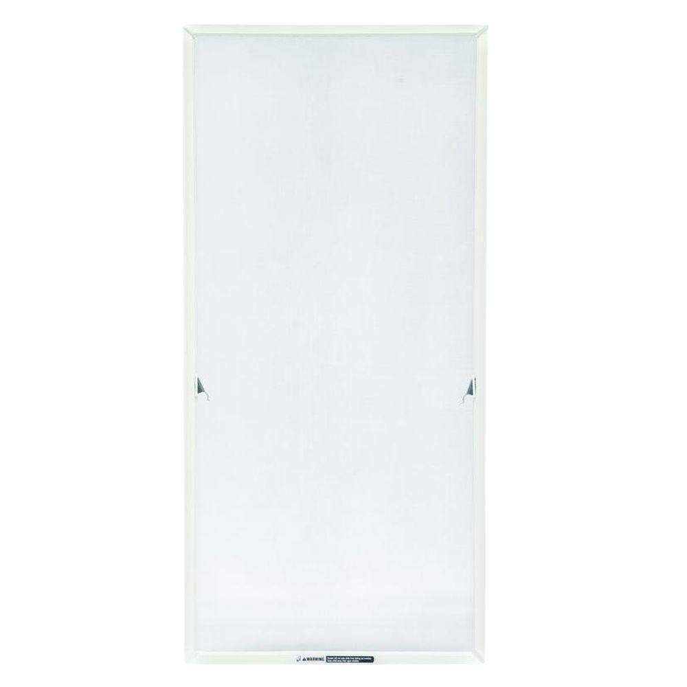 TruScene 20-11/16 in. x 36-11/32 in. White Casement Insect Screen
