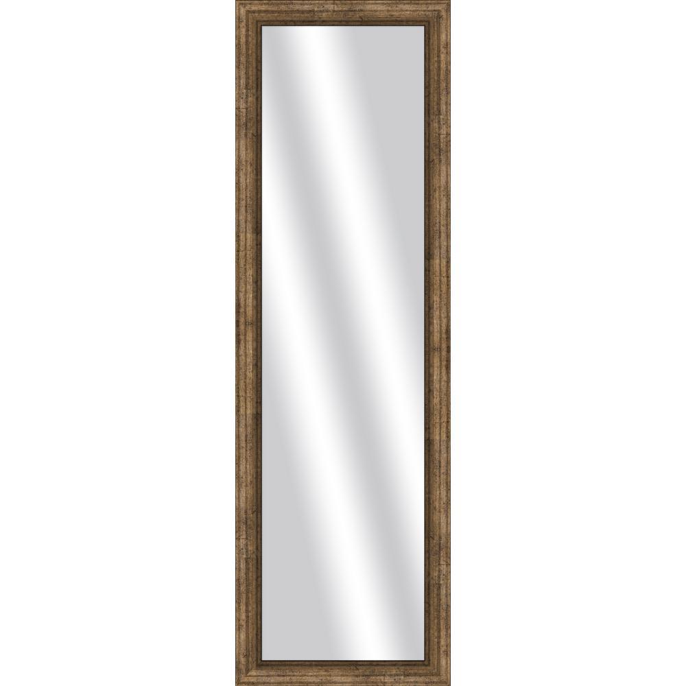 53 in. x 17 in. Dark Champagne Framed Mirror