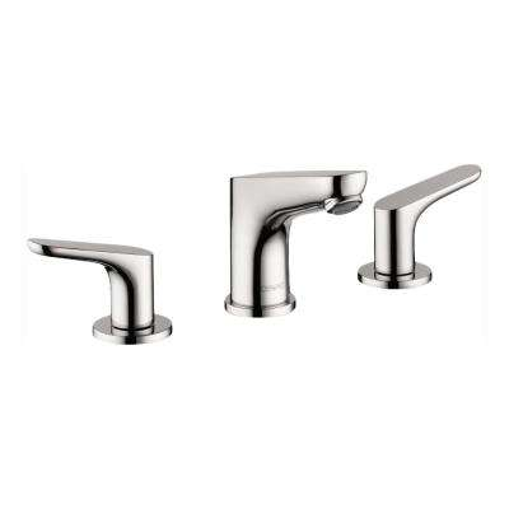 Focus 100 8 in. Widespread 2-Handle Bathroom Faucet in Chrome