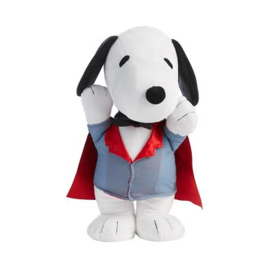 9.4 in. Animated Snoopy Vampire Waddler