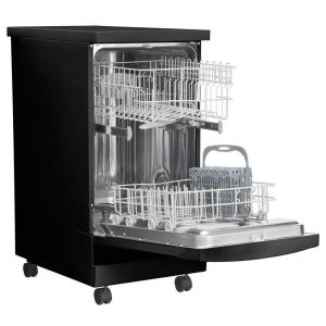 +5. Frigidaire 18 In. Portable Dishwasher In Black With Stainless Steel ...