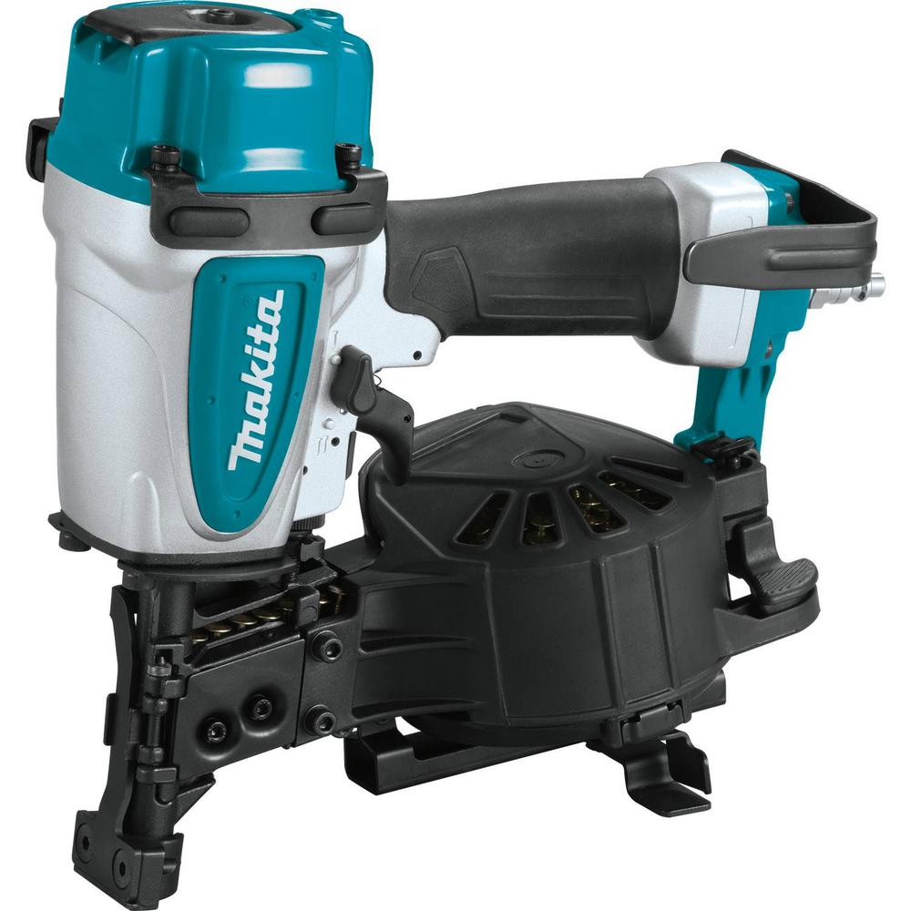 Makita 15 Degree 1 3 4 In Pneumatic Coil Roofing Nailer