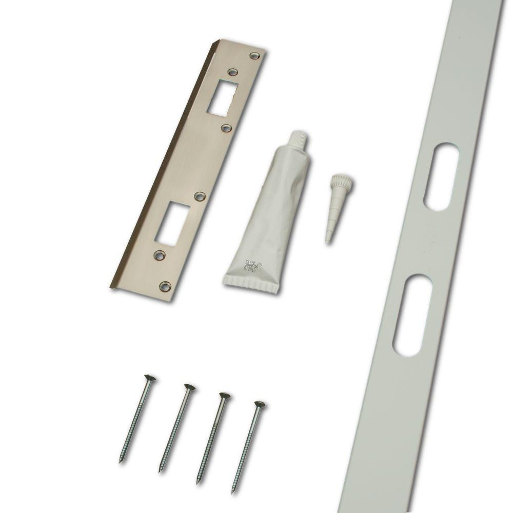 Door frame door frame kits home depot - Safe Door Systems Home Security Door And Frame Reinforcement Kit