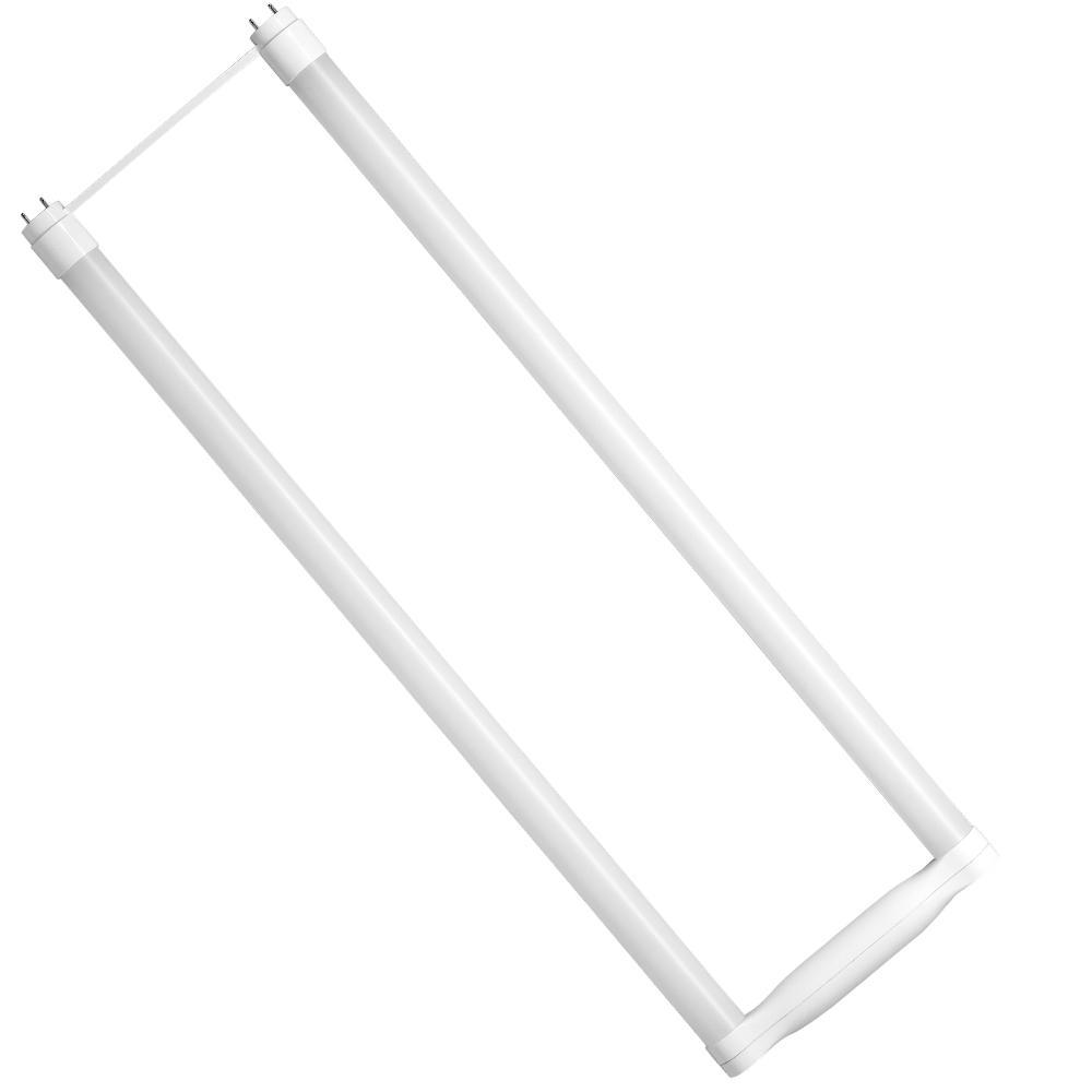 32-Watt Equivalent 11-Watt 4 ft. T8 Dimmable LED Ubend Plug & Play Type A Light Bulb Daylight 5000K (12-Pack) 84076