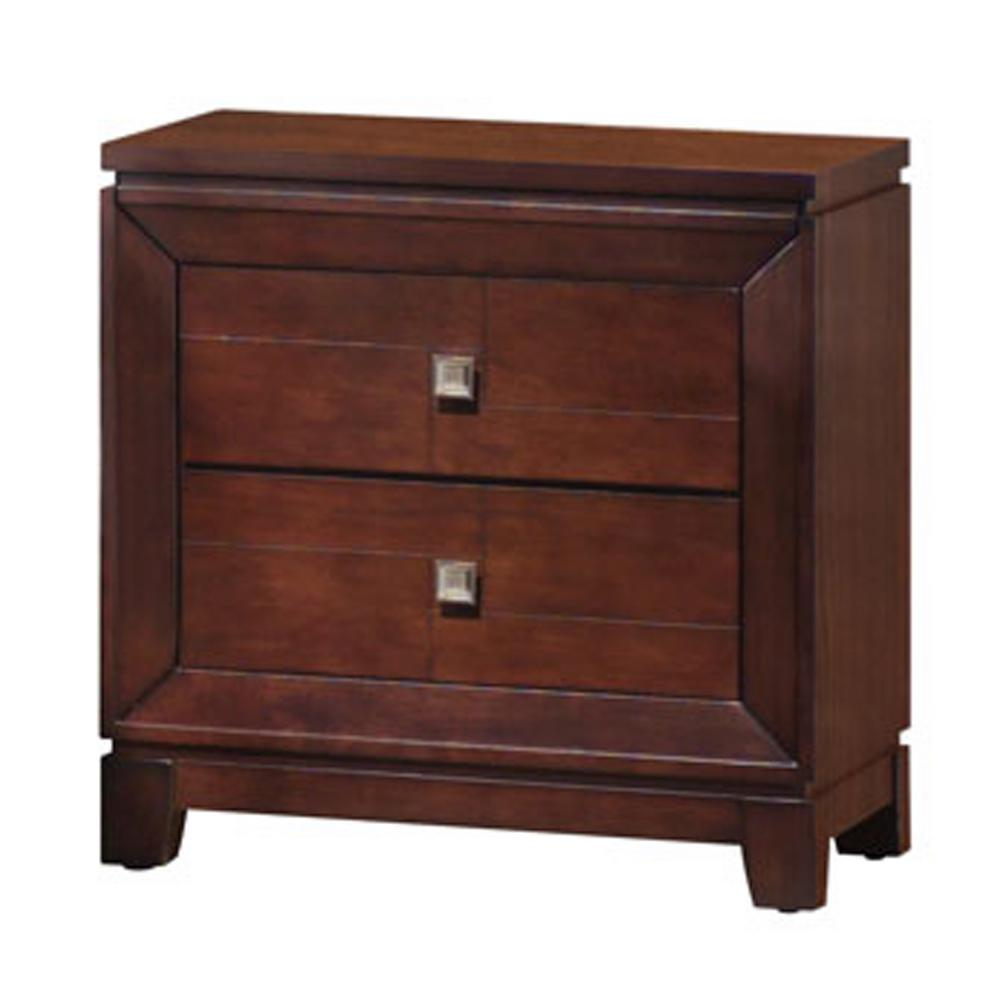 Easton 2-Drawer Nightstand in Cherry
