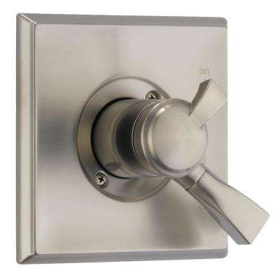 Dryden Monitor 17 Series 1-Handle Volume/Temperature Control Valve Trim Kit in SpotShield Stainless (Valve Not Included)