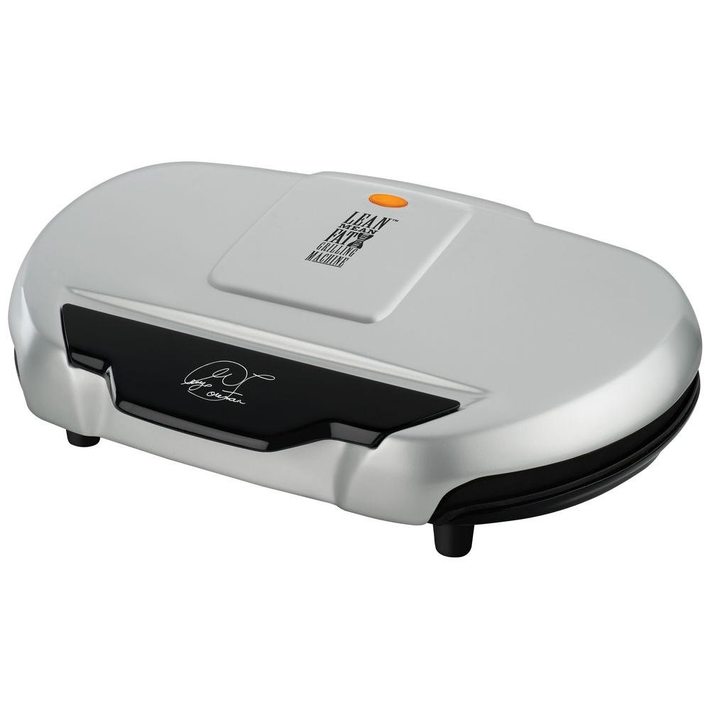 George Foreman Family Size Grill, Platinum-DISCONTINUED