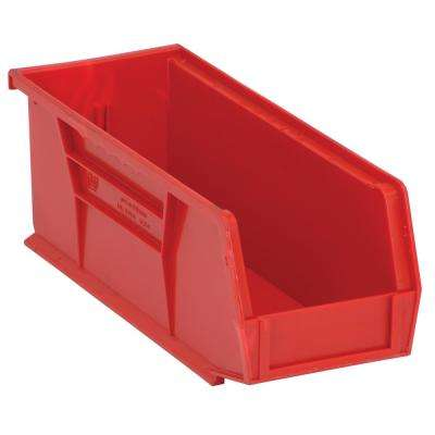 Ultra Series Stack and Hang 3.6 Gal. Storage Bin in Red (12-Pack)