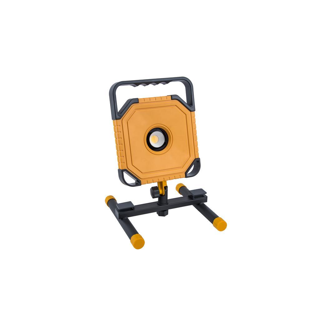 Lutec 3500-Lumen Integrated LED Portable Work Light