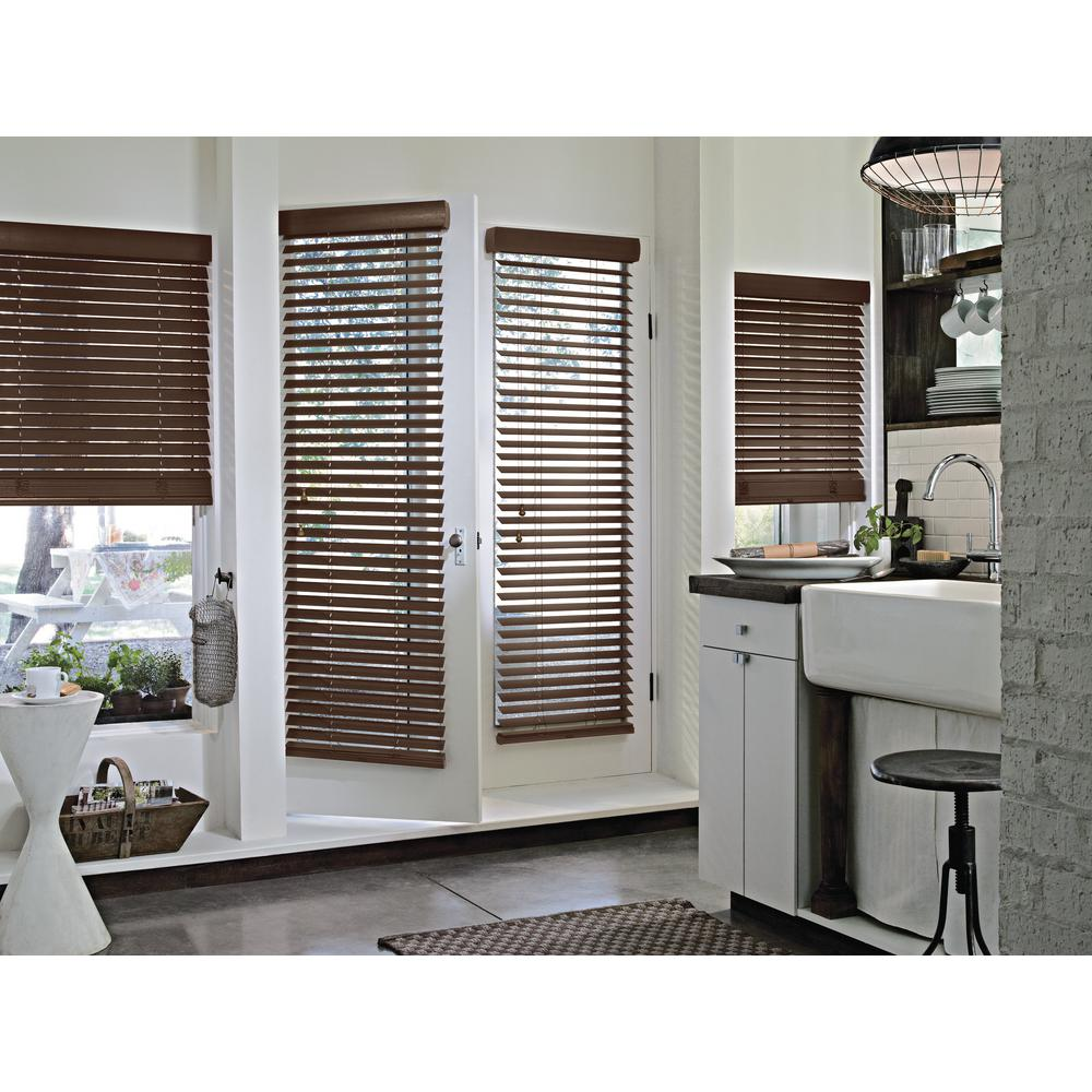 Parkland Wood Blinds Installed Hunter Douglas