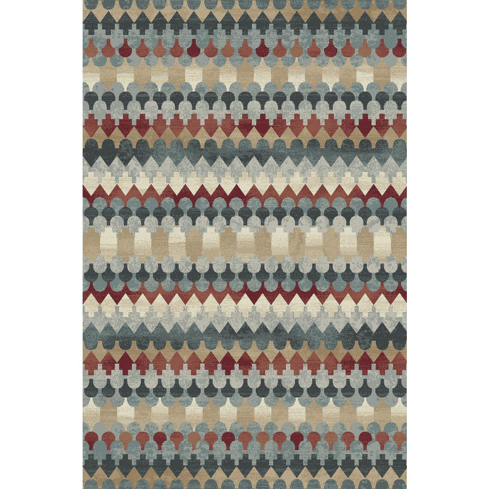 Melody Multi 3 ft. 11 in. x 5 ft. 3 in. Indoor Area Rug