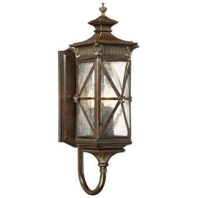 Rue Vieille 4-Light Forged Bronze Wall Mount