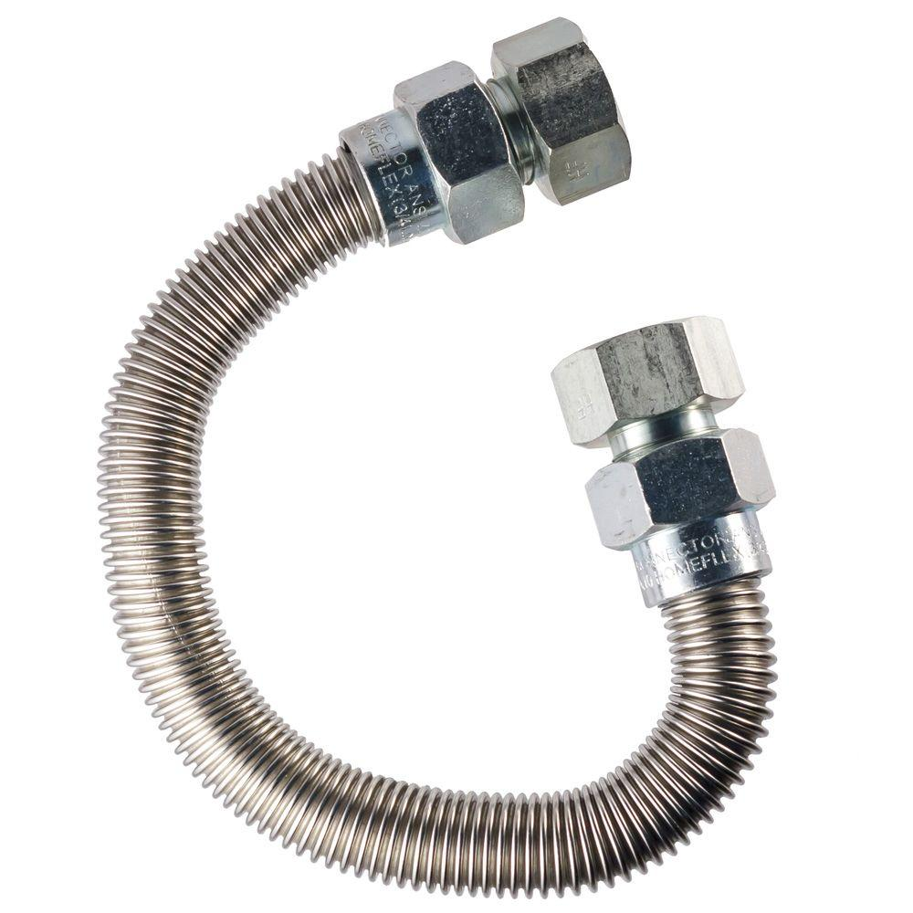 HOME-FLEX 3/4 in. FIP x 3/4 in. FIP x 36 in. Special Application Connector 1 in O.D.