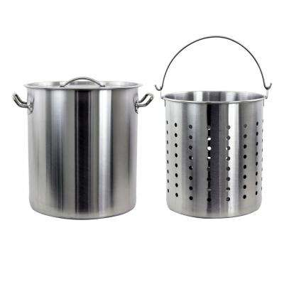 42 Qt. Stainless Steel Stock Pot