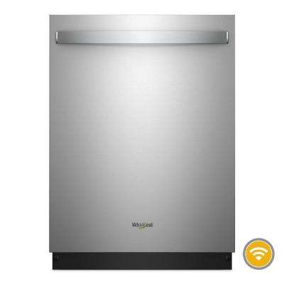Top Control Smart Built-In Tall Tub Dishwasher in Fingerprint Resistant Stainless Steel with Stainless Steel Tub, 47 dBA