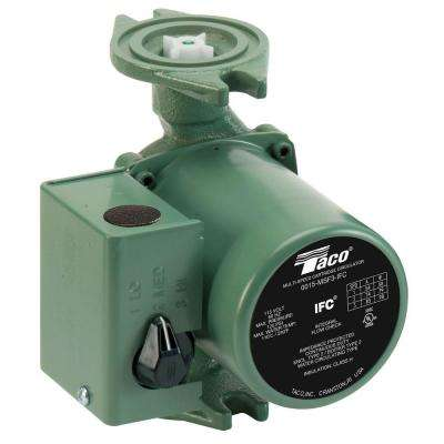 1/20 HP 3-Speed Circulating Pump with Integral Flow Check