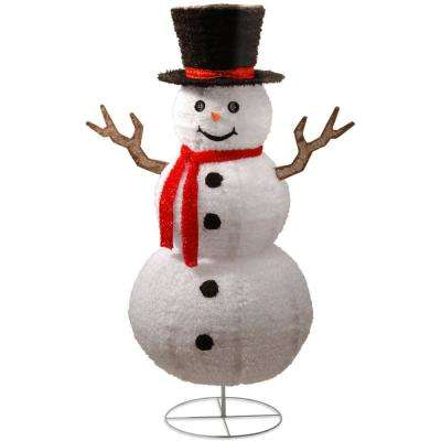 72 in. Pop-Up Snowman