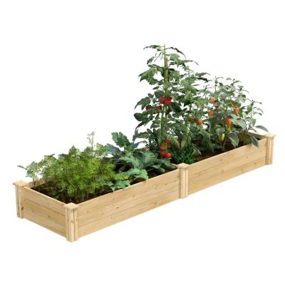 2 ft. x 8 ft. x 10.5 in. Original Cedar Raised Garden Bed
