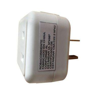 15 Amp Switched Outlet, White