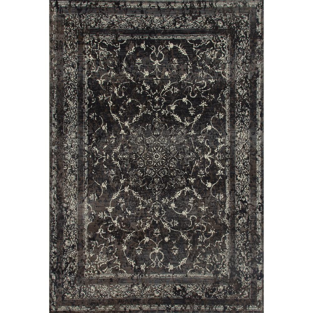 Art Carpet London Treasure Gray 2 Ft X 4 Area Rug