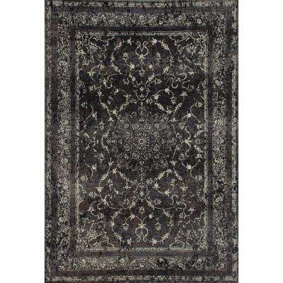 London Treasure Gray 2 ft. x 4 ft. Area Rug