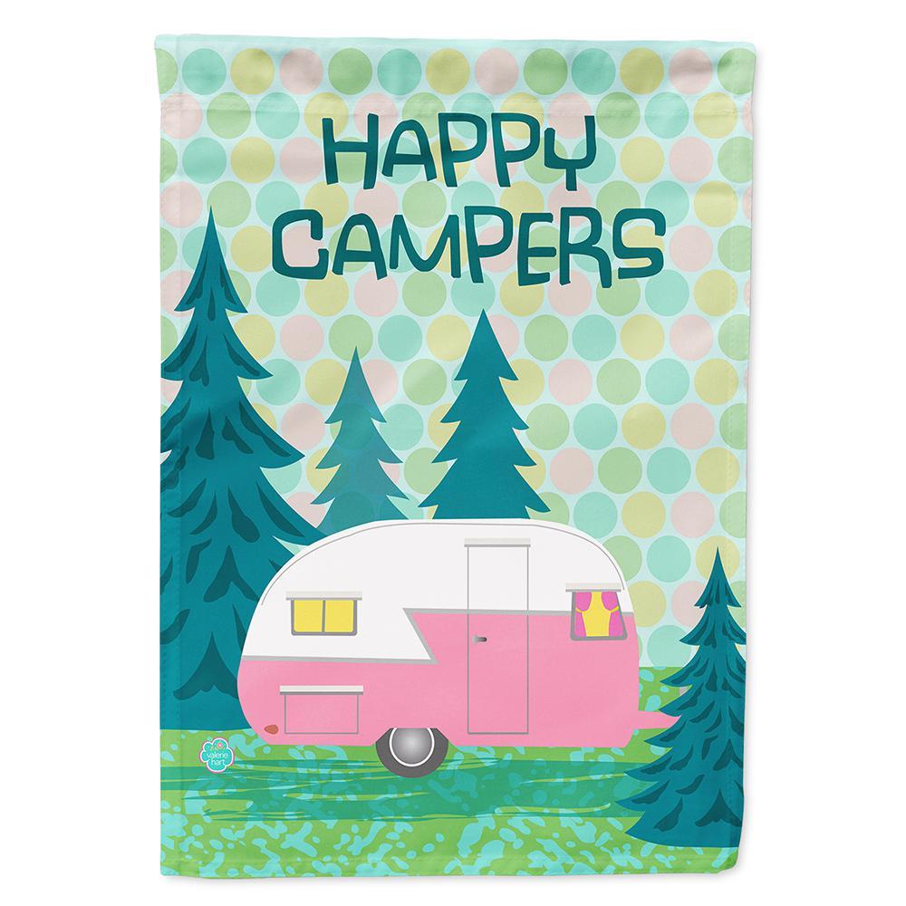 Caroline\'s Treasures 28 in. x 40 in. Polyester Happy Campers ...