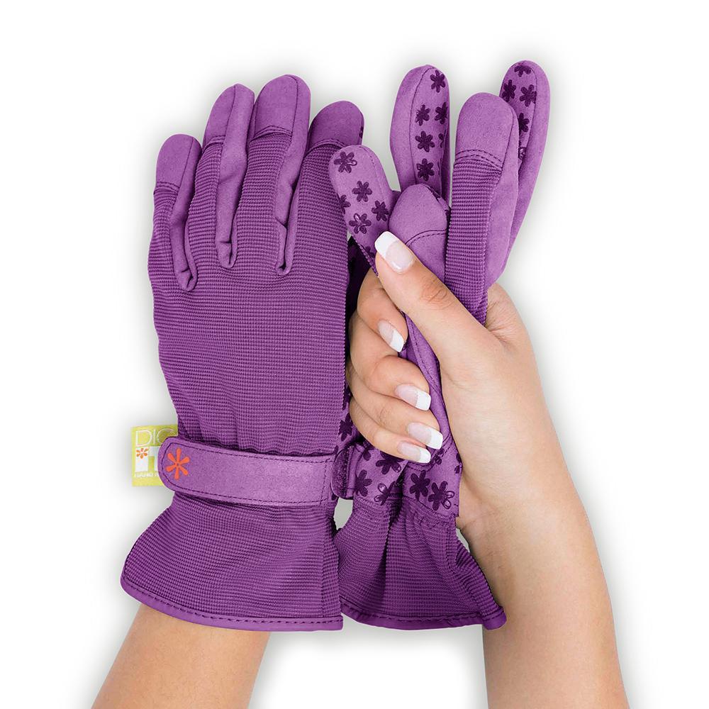 Women's Large Nail Protector Garden Gloves