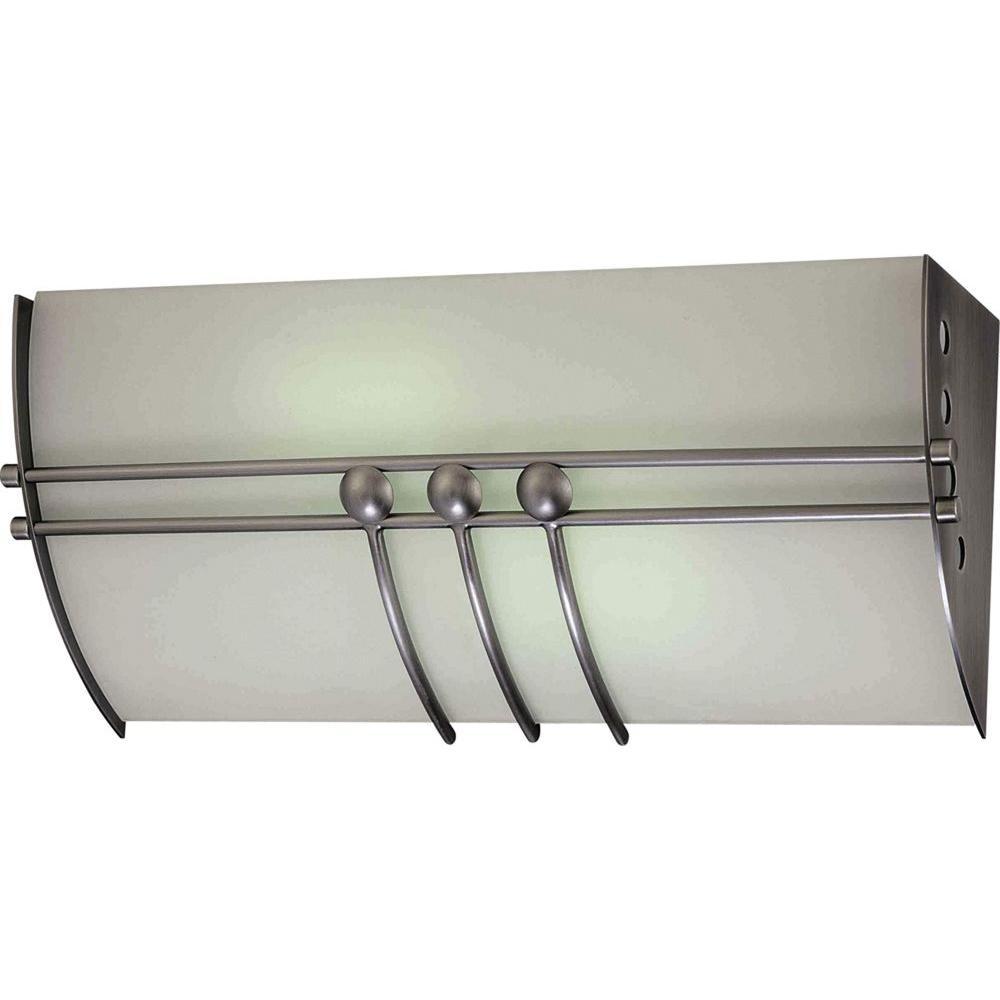 Volume Lighting Avila 2 Light Brushed Nickel Bath And Vanity Light V6077 33 The Home Depot