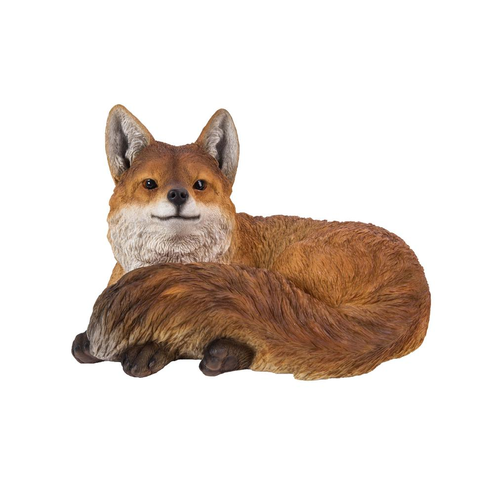 HI-LINE GIFT LTD FOX LAYING DOWN STATUE