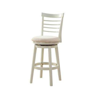 Harbour 48 in. Tall White Bar Stool