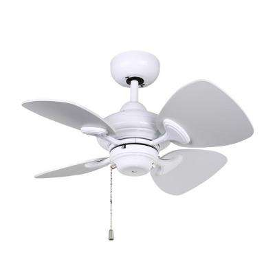 Aires 24 in. White Ceiling Fan