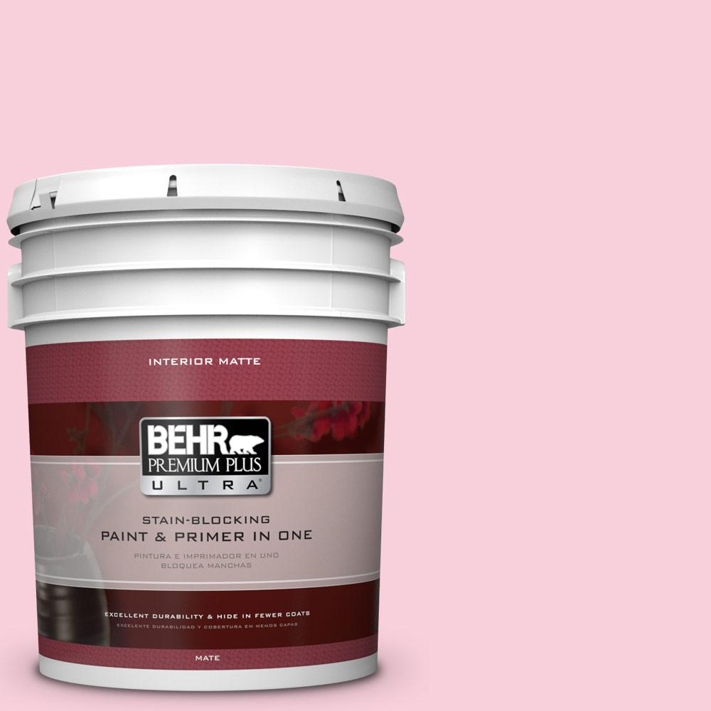 5 gal. #120C-1 April Blush Flat/Matte Interior Paint