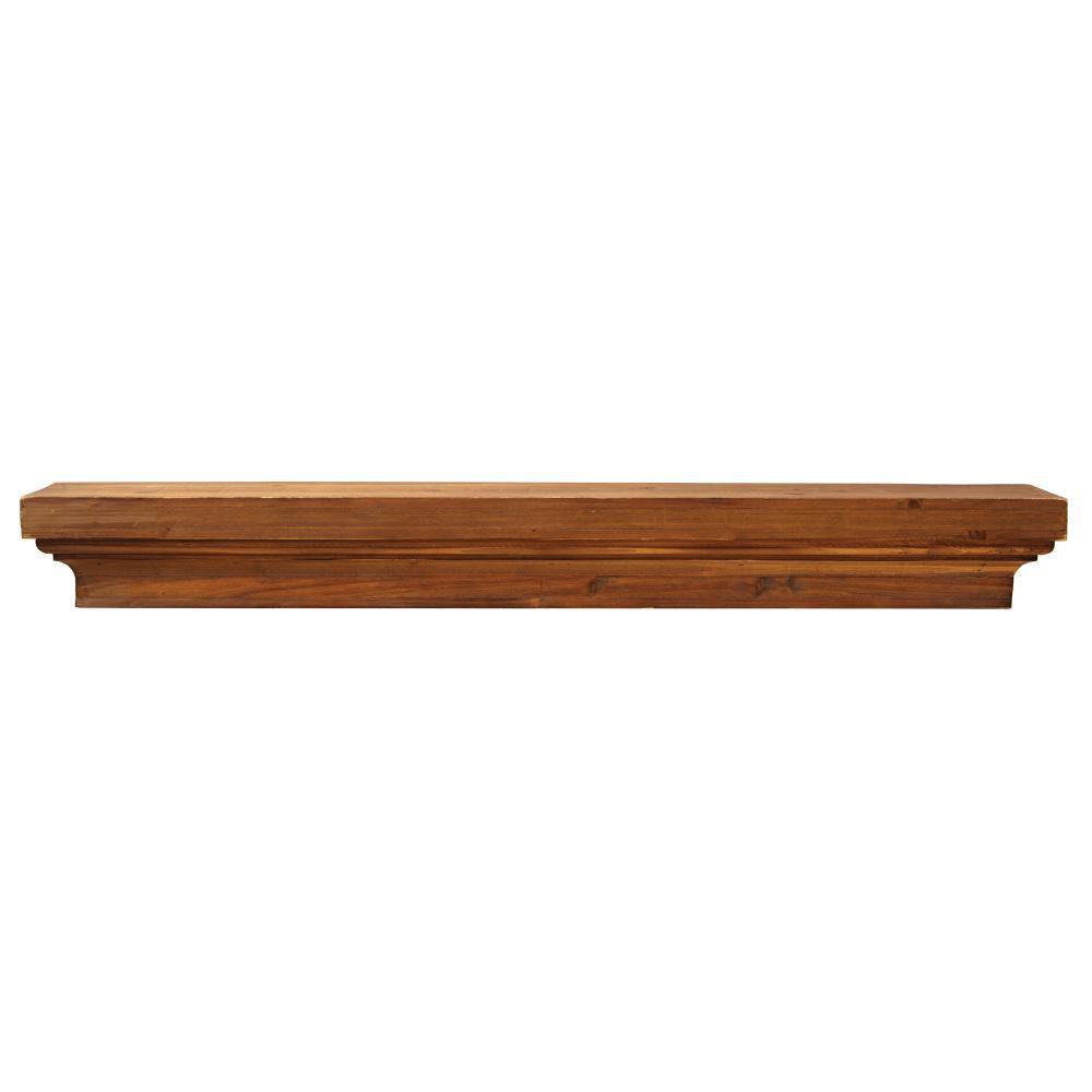 Knape Amp Vogt 9 5 In X 35 In Unfinished Decorative Shelf