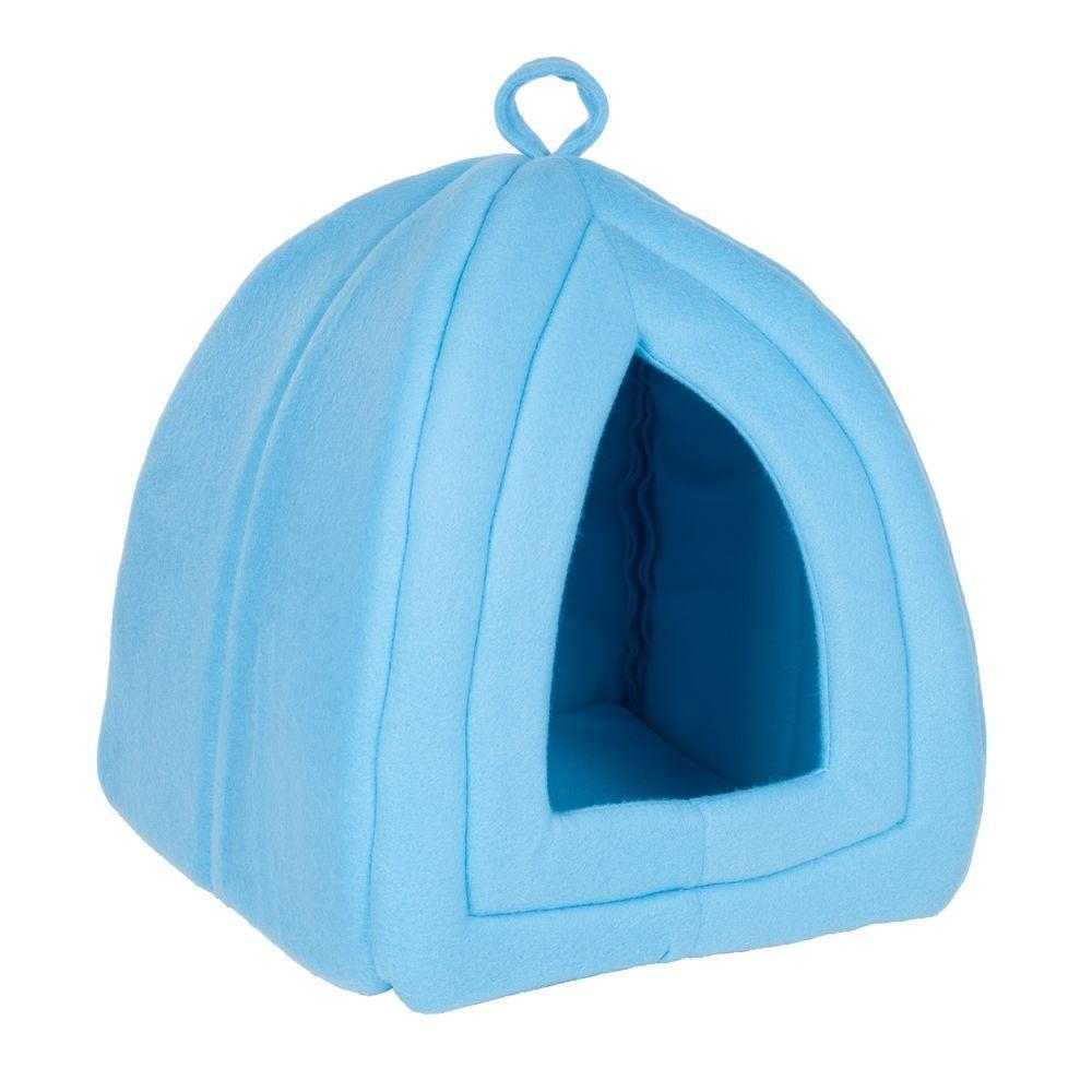 Paw Small Blue Cozy Kitty Tent Igloo 80 Tb8801 Blu The