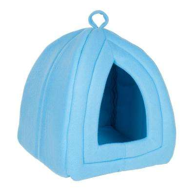 Small Blue Cozy Kitty Tent Igloo