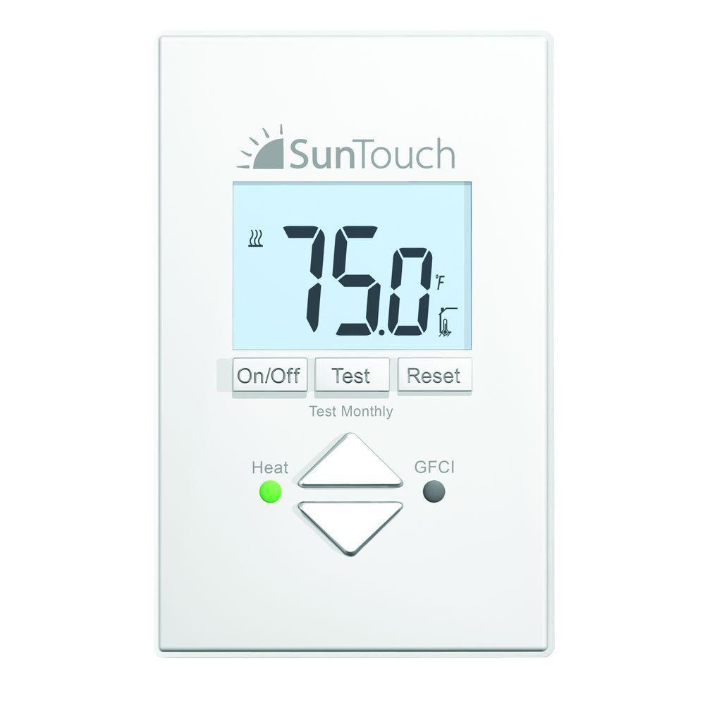 SunTouch Floor Warming SunStat Core Non Programmable Floor Heating  Thermostat