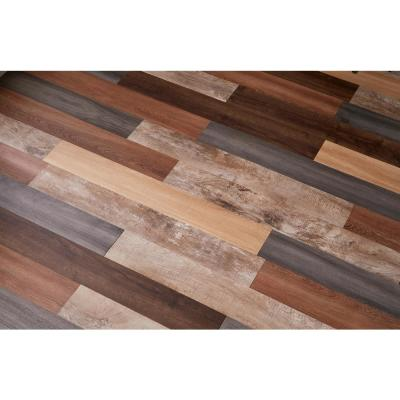 Festnight 36 Piece Self-Adhesive Flooring Planks Hardwood Flooring Planks 54 ft/² 0.08 Oak Classic
