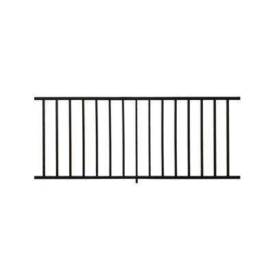 Stanford 36 in. H x 72 in. W Textured Black Aluminum Railing Kit
