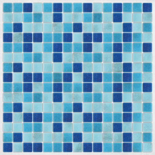 Home Decor Line Light Blue Peel and Stick Decal Tiles CR-31314