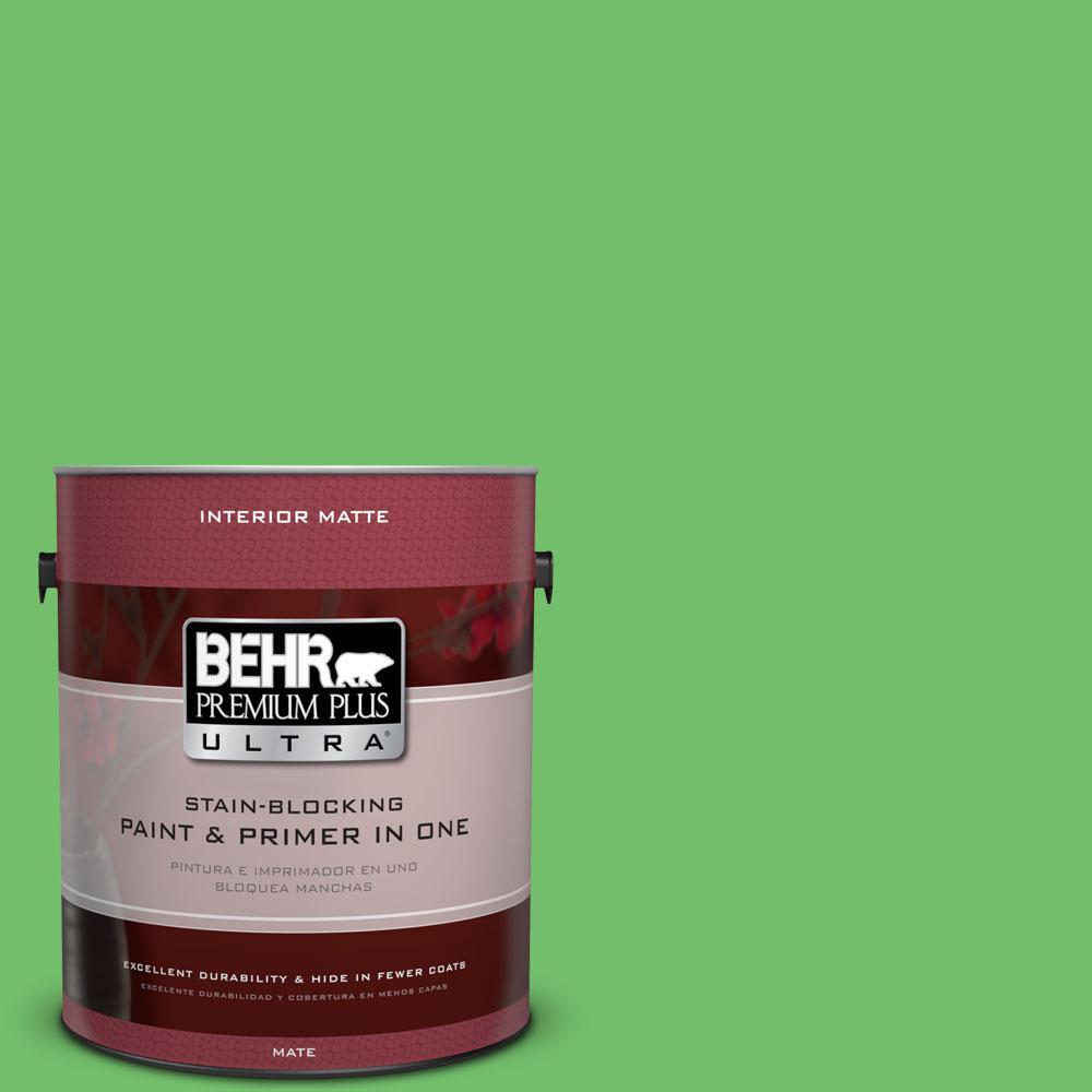 BEHR Premium Plus Ultra 1 gal. #440B-5 Dublin Flat/Matte Interior Paint