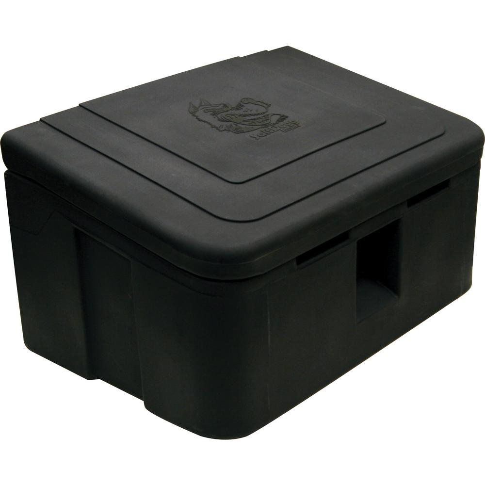 Buyers Cu Polymer Storage Box Black Image