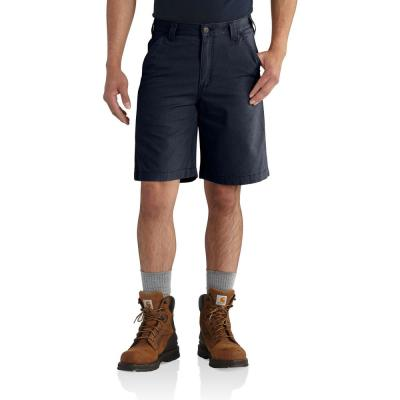 Men's 34 in.  Navy Cotton/Spandex Rugged Flex Rigby Short