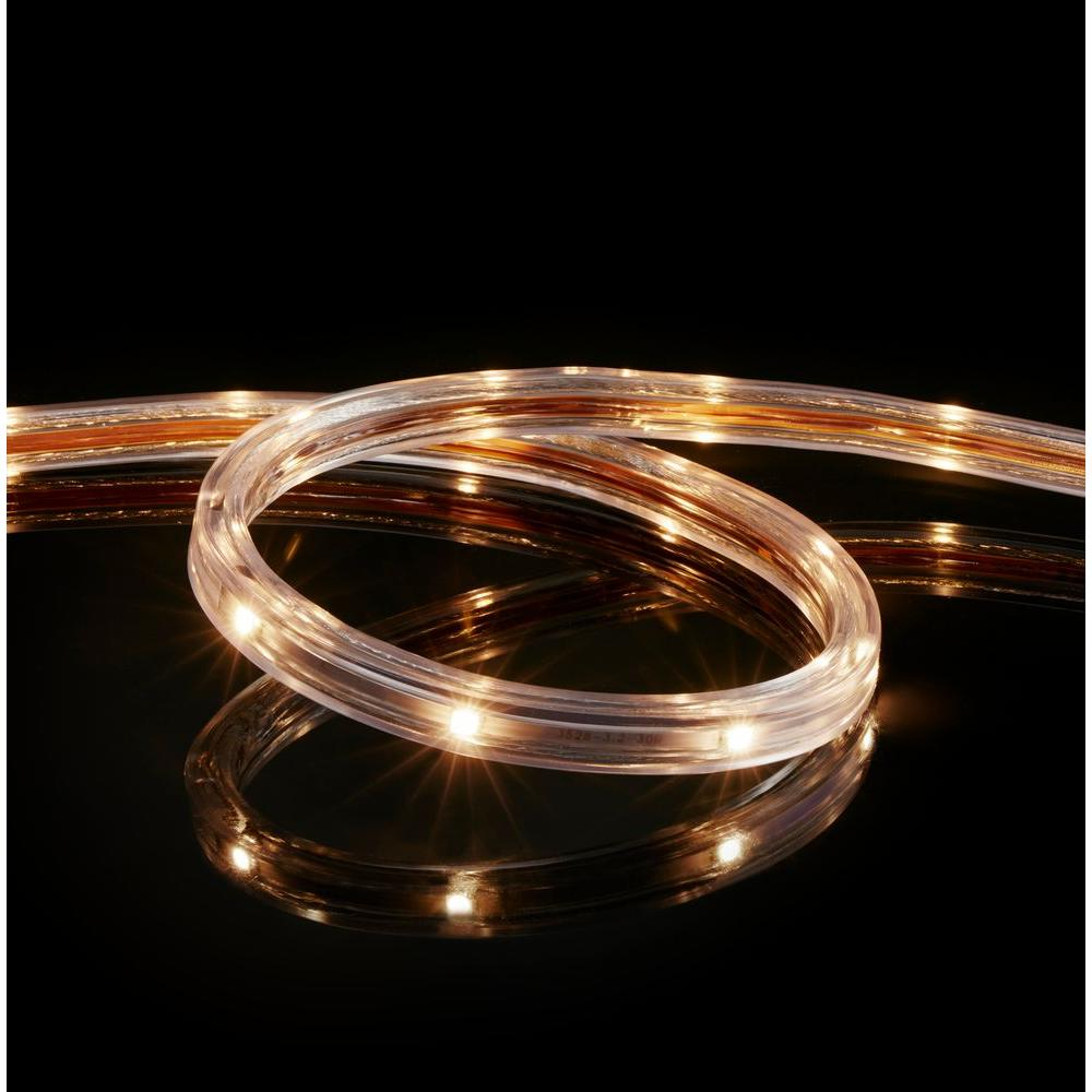 Meilo 164 ft warm white led strip light tal164ww the home depot warm white led strip light aloadofball Images