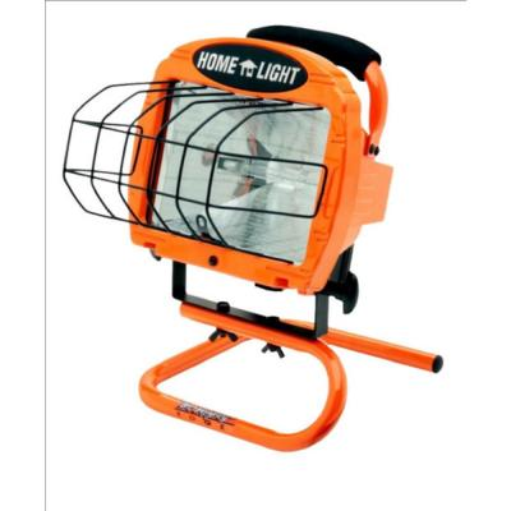 500-Watt Portable Halogen Work Light with 3 ft. Cord